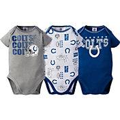 Gerber Infant Indianapolis Colts 3-Piece Onesie Set