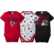 Gerber Infant Atlanta Falcons 3-Piece Onesie Set
