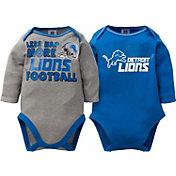 Gerber Infant Detroit Lions 2-Piece Long Sleeve Onesie Set
