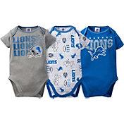 Gerber Infant Detroit Lions 3-Piece Onesie Set