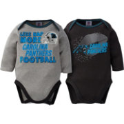 Gerber Infant Carolina Panthers 2-Piece Long Sleeve Onesie Set