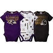 Gerber Infant Baltimore Ravens 3-Piece Onesie Set