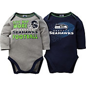 Gerber Infant Seattle Seahawks 2-Piece Long Sleeve Onesie Set