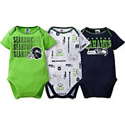 Gerber Infant Seattle Seahawks 3-Piece Onesie Set
