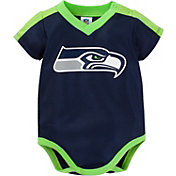 Gerber Infant Seattle Seahawks Dazzle Onesie