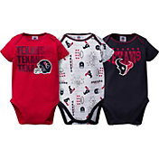Gerber Infant Houston Texans 3-Piece Onesie Set