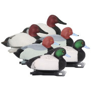 Hard Core Brands Pro Series Diver Duck Decoys – 6 Pack