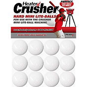 Heater Crusher Fast Mini Poly Balls – 12 Pack