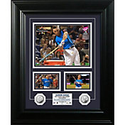 Highland Mint New York Yankees Aaron Judge 2017 Home Run Derby Champion Silver Marquee Photo Mint