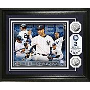 Highland Mint New York Yankees Derek Jeter Jersey Retirement Silver Coin Commemorative Photo Mint