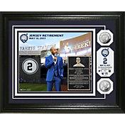 Highland Mint New York Yankees Derek Jeter Jersey Retirement Ceremony Silver Coin Photo Mint