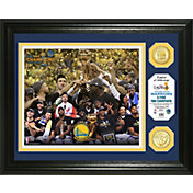 Highland Mint 2017 NBA Finals Champions Golden State Warriors Bronze Coin Photo Mint