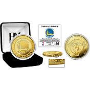 Highland Mint 2017 NBA Finals Champions Golden State Warriors Gold Mint Coin