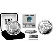 Highland Mint 2017 NBA Finals Champions Golden State Warriors Pure Silver Mint Coin