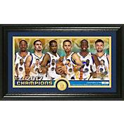 Highland Mint 2017 NBA Finals Champions Golden State Warriors 'Team Force' Panoramic Bronze Coin Photo Mint