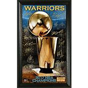 Highland Mint 2017 NBA Finals Champions Golden State Warriors 'Trophy' Signature Photo