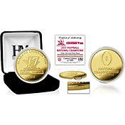 Highland Mint 2017 National Champions Alabama Crimson Tide Gold Mint Coin