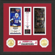 Highland Mint 2017 National Champions Alabama Crimson Tide Ticket Collection