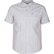 Hurley Men's Brooks Woven Short Sleeve Shirt