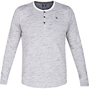 Hurley Men's Dri-FIT San Clemente Henley Long Sleeve Shirt