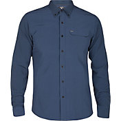 Hurley Men's Alchemy Woven Long Sleeve Shirt