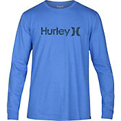 Hurley Men's One And Only Push Through Long Sleeve Shirt