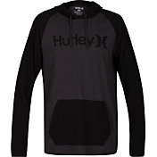 Hurley Men's One And Only Raglan Jersey Hoodie