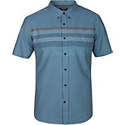 Hurley Men's Paradise Cove Woven Short Sleeve Shirt