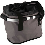 Huffy Foldable Front Bike Basket and Carry Bag