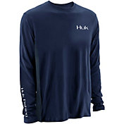 Huk Men's KC Scott PF Liberty Offshore Long Sleeve Shirt