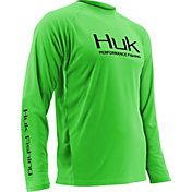 Huk Men's Performance Vented Long Sleeve Shirt