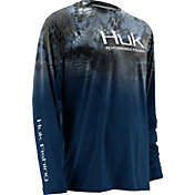 Huk Men's Kryptek Fade Icon Long Sleeve Shirt