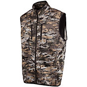 Huntworth Men's Soft Shell Hybrid Camo Vest