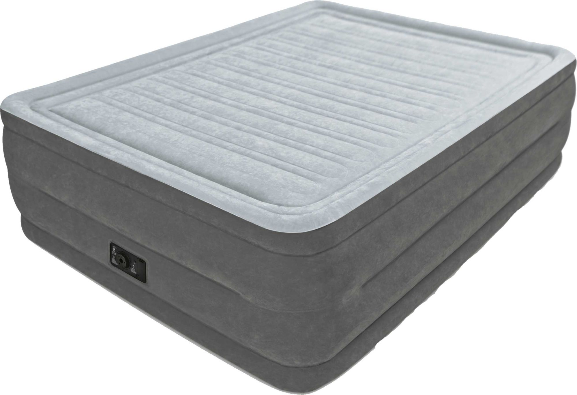 Product Image Intex Comfort Plush Queen Air Mattress With Built In Pump