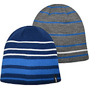 Jacob Ash Boys' Reversible Multi Stripe Beanie