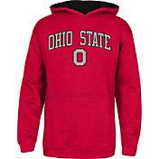 Scarlet & Gray Boys' Ohio State Buckeyes Scarlet Meteor Hoodie