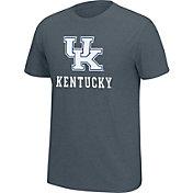 J. America Men's Kentucky Wildcats Grey Staple T-Shirt