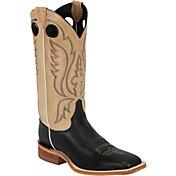 Justin Men's Calfskin Bent Rail Western Boots