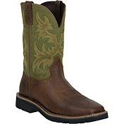 Justin Men's Cowhide Stampede Work Boots