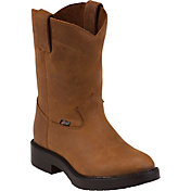 Justin Boots Kids' Meno Aged Bark Work Boots
