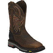 Justin Men's Pull-On Commander X-5 Square Toe Work Boots