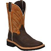 Justin Men's Stampede Steel Toe Work Boots