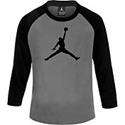 Jordan Boys' Jumbo Dri-FIT Long Sleeve Shirt