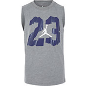 Jordan Boys' 23 Wavy Muscle Sleeveless Shirt