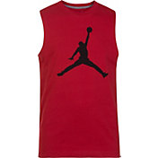 Jordan Boys' Jumpman Muscle Sleeveless Shirt