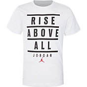 Jordan Boys' Dri Rise Above All Graphic T-Shirt