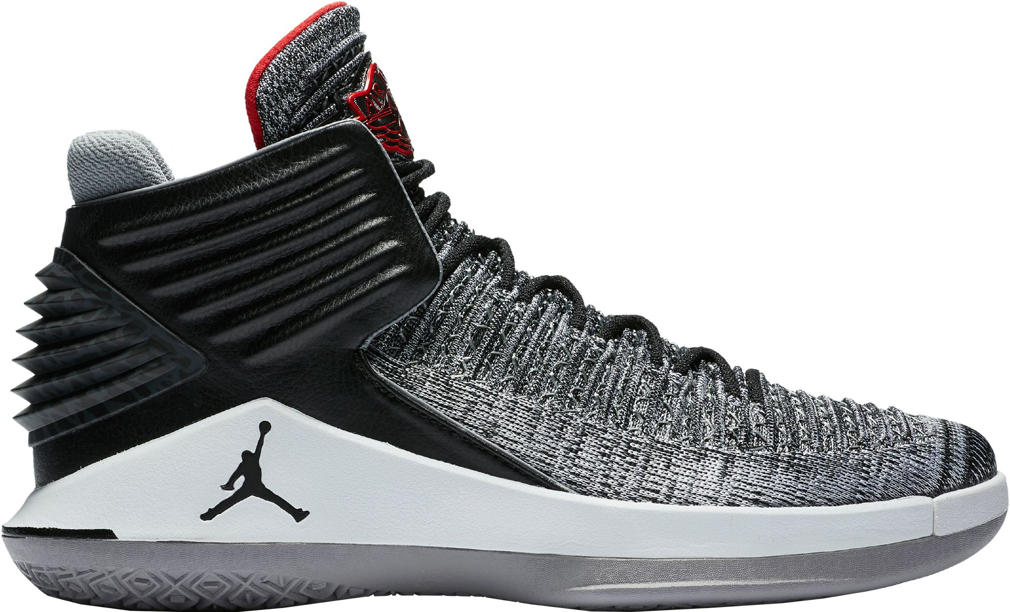 0e6e33e26312a2 Air Jordan XXXII Low AJ 32 University Blue Black White Metallic Silver  Men s Basketball Shoes