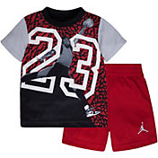 Jordan Infant Boys' Massive 23 T-Shirt and Shorts Two-Piece Set