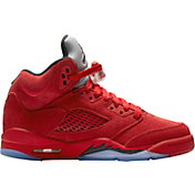 Jordan Kids' Grade School Air Jordan 5 Retro Basketball Shoes