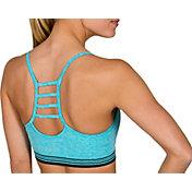 Jockey Women's Athletic Stripe Seam Free Cami Sports Bra